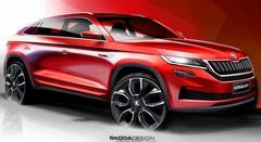 Skoda Kodiaq GT : le SUV coupé se laisse entrevoir