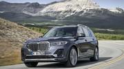 Le SUV géant BMW X7 dévoile ses lignes et ses prix