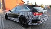 L'Audi A6 Allroad cache sa plastique