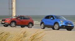 Essai Nouvelle Fiat 500X vs Peugeot 2008