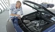Audi R8 restylée : peut-être le dernier V10