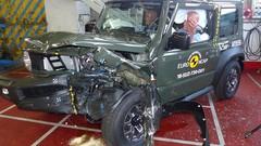 Seulement 3 étoiles aux tests Euro NCAP pour le Suzuki Jimny