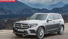 Le futur Mercedes GLB face au GLC restylé