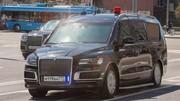 Un nouveau van pour Vladimir Poutine
