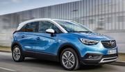 Opel peaufine son Crossland X