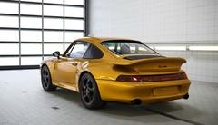 Plus de 2,5 millions d'euros pour la Porsche 911 « Project Gold »