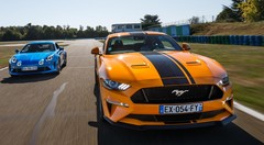 Essai comparatif : Alpine A110 VS Ford Mustang GT