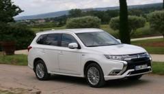 Essai Mitsubishi Outlander PHEV: électrique mais pas très longtemps