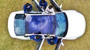 Hyundai met au point le panneau solaire pour voiture thermique