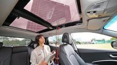 Les futures Hyundai et Kia équipées de panneaux solaires ?