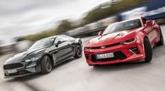 Essai Ford Mustang vs Chevrolet Camaro : Le choc des V8 !