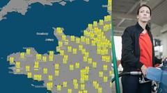 Blocage 17 novembre : quelles villes et régions seront concernées ?