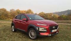 Essai Hyundai Kona CRDi 115 : point de suspensions