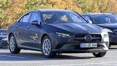 Camouflage léger pour le futur CLA de Mercedes
