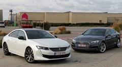 Essai Audi A5 Sportback 40 TFSI vs Peugeot 508 1.6 PureTech 180 : le fond et la forme ?