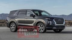 Le Hyundai Palisade en avance