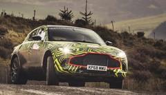 Le futur SUV Aston Martin DBX se confronte à la terre