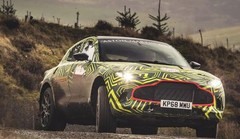 Aston Martin DBX : les tests commencent