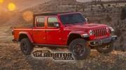 Jeep Gladiator: les premières photos en fuite du Wrangler pick-up