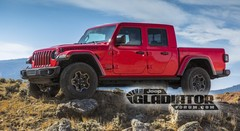 Le pick-up Jeep Gladiator se montre en avance