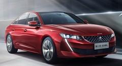 Peugeot dévoile sa 508 L pour la Chine