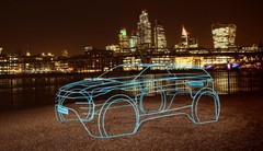 Land Rover : premier teaser pour le futur Range Rover Evoque