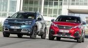 Essai Citroën C5 Aircross face au Peugeot 3008 : le choc des SUV