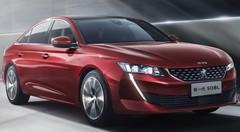 Peugeot dévoile une 508 inédite pour la Chine