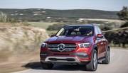 Essai Mercedes GLE : lustre et suspensions