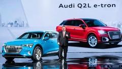Audi Q2 L e-tron : une version électrique pour la Chine