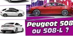 Nouvelles Peugeot 508 et Peugeot 508-L : quelles sont les différences