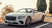 La Bentley Continental GT Convertible 2019 se découvre