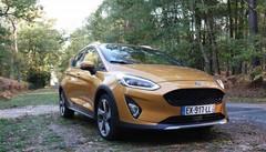 Essai Ford Fiesta Active : un peu de hauteur !