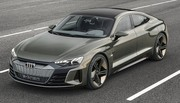 Audi e-tron GT : Une version de production en 2021