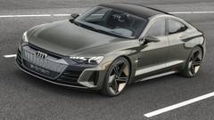 Audi e-tron GT : le concept de berline électrique au salon de Los Angeles