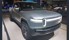 Rivian R1T : un pick-up électrique au salon de Los Angeles 2018