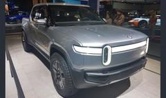 Rivian R1T : un pick-up électrique au salon de Los Angeles 2018