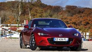 Essai Mazda MX-5 (ND) RF 2.0L 184 ch : Saut d'obstacles