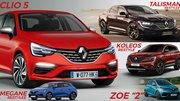 Toutes les futures Renault (2019)
