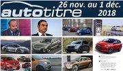 Résumé Auto Titre du 26 novembre au 1er décembre 2018