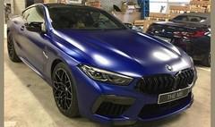 BMW M8 Compétition : premières photos sans camouflage