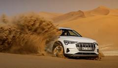 Essai Audi e-tron : La verte Forest