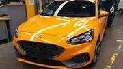Ford: la nouvelle Focus ST surprise sans camouflage