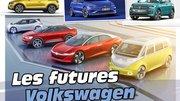 Les futures Volkswagen jusqu'en 2022