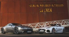 Essai comparatif : Aston Martin Vantage vs Jaguar F-Type, le match !