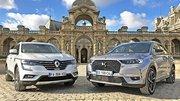 Essai DS 7 Crossback vs Renault Koleos Initiale Paris : deux visions du luxe à la française