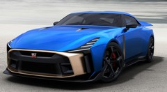 La Nissan GT-R50 sur les voies d'une production en série Nissan GT-R50 2019