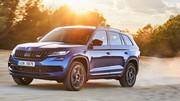Essai Skoda Kodiaq RS : nos impressions au volant du SUV Diesel sportif