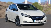 Nissan Leaf E-Plus à autonomie allongée : des tarifs démarrant à 41 700 €
