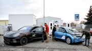 Porsche et BMW dévoilent un chargeur rapide de 450 kW... et le Taycan Cross Turismo